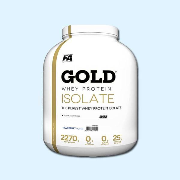 GOLD WHEY PROTEIN ISOLATE – 2,27KG – FA NUTRITION - protéine tunisie sobitas