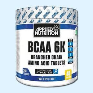 BCAA 6K 240 CAPS - APPLIED NUTRITION - Protéine Tunisie SOBITAS