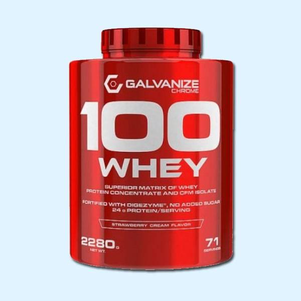100 WHEY 2.3 KG – GALVANIZE - protéine tunisie sobitas