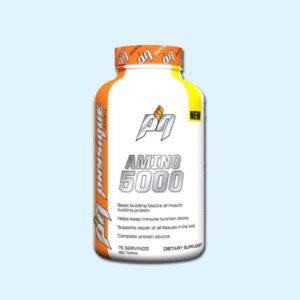 AMINO 5000 450 Caps - PHYSIQUE NUTRITION - protéine Tunisie SOBITAS protein.tn