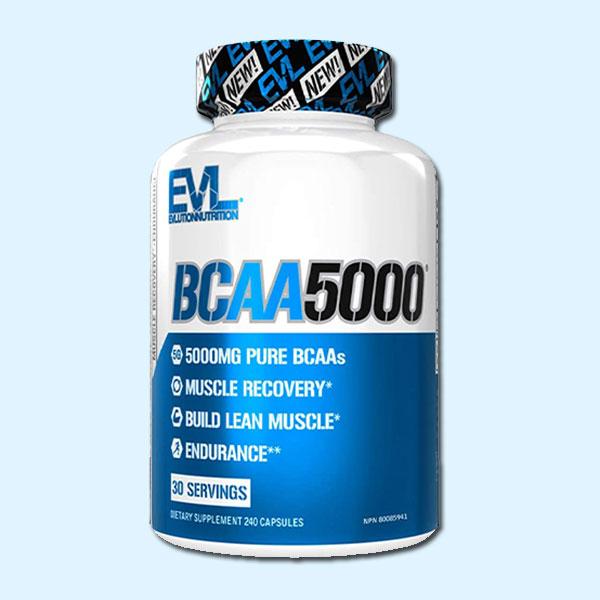 BCAA 5000 240 CAPS – EVLUTION NUTRITION - Protéine Tunisie SOBITAS