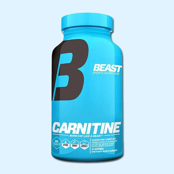 CARNITINE 90 CAPS – BEAST SPORTS NUTRITION - protéine tunisie sobitas