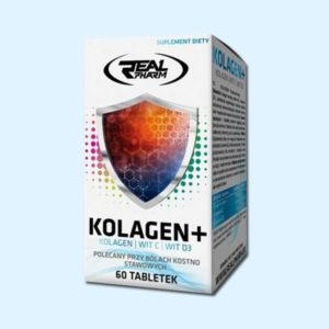KOLAGEN+ 60 TABS - REAL PHARM - protéine tunisie SOBITAS protein.tn
