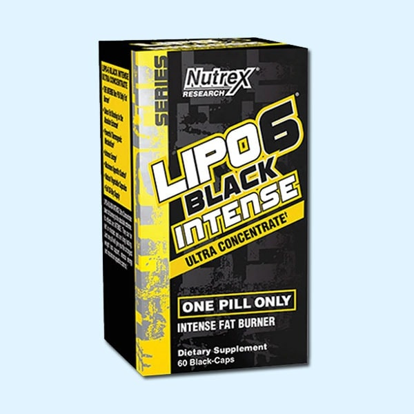 LIPO 6 BLACK INTENSE 60 Caps - NUTREX RESEARCH - protéine Tunisie SOBITAS protein.tn