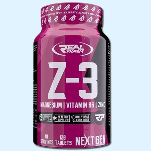 Z3 120 TABS - REAL PHARM - Protéine Tunisie SOBITAS protein.tn