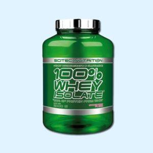 100% WHEY ISOLATE PUR 2 Kg - SCITEC NUTRITION - protéine Tunisie SOBITAS protein.tn