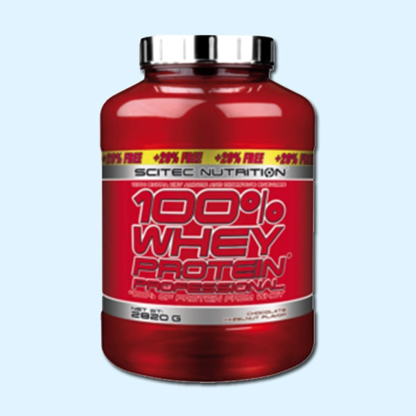 100% WHEY PROTEIN PROFESSIONAL 2.820 kg – SCITEC NUTRITION - protéine Tunisie SOBITAS protein.tn