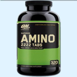AMINO 2222 – 320 CAPS – OPTIMUM NUTRITION - protéine Tunisie SOBITAS protein.tn