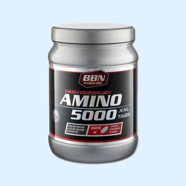 AMINO 5000 325 Tabs – BBN HARDCORE - protéine Tunisie SOBITAS protein.tn