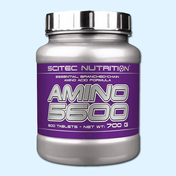 AMINO 5600 500 Tabs – SCITEC NUTRITION - protéine Tunisie SOBITAS protein.tn