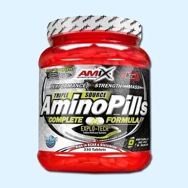 AMINO PILLS 330 Tabs – AMIX ADVANCED NUTRITION - protéine Tunisie SOBITAS protein.tn