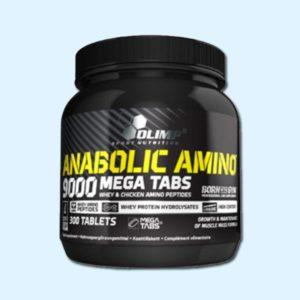 ANABOLIC AMINO 9000 - 300 TABS - OLIMP NUTRITION - Protéine Sousse SOBITAS protein.tn