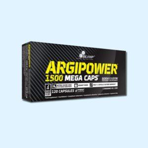 ARGIPOWER 1500 MEGA 120 caps – OLIMP NUTRITION - protéine Tunisie SOBITAS protein.tn
