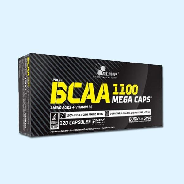 BCAA 1100 MEGA 120 Caps – OLIMP NUTRITION - Protéine Sousse SOBITAS protein.tn