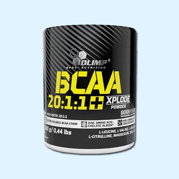 BCAA 20 1 1 XPLODE POWDER 200 G – OLIMP NUTRITION - protéine Sousse SOBITAS protein.tn