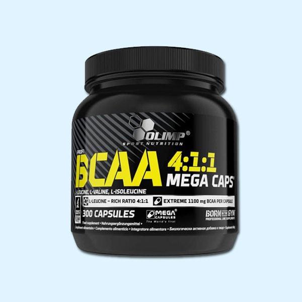 BCAA 4 1 1 MEGA CAPS 300 Caps - OLIMP NUTRITION - Protéine SOUSSE SOBITAS protein.tn