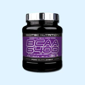 BCAA 6400 375 Caps – SCITEC NUTRITION - protéine Sousse SOBITAS protein.tn