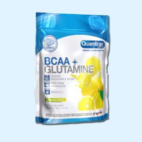 BCAA + GLUTAMINE 500 g - QUAMTRAX - protéine Tunisie SOBITAS protein.tn