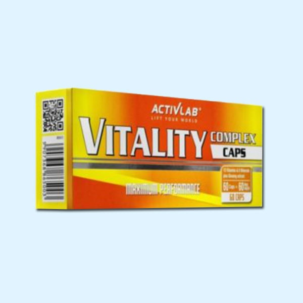 COMPLEXE VITALITE 60 Tabs - ACTIVLAB - protéine Sousse SOBITAS protein.tn
