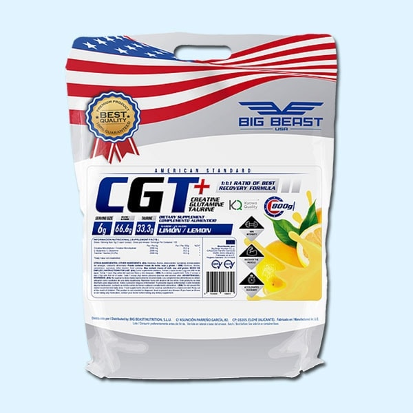 CREATINE 800 g CGT – BIG BEAST USA - protéine Tunisie SOBITAS protein.tn