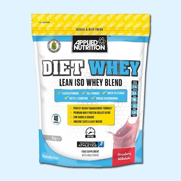 DIET WHEY 1kg – APPLIED NUTRITION - protéine Tunisie SOBITAS protein.tn