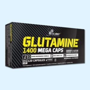 GLUTAMINE 1400 MEGA 120 Caps - OLIMP NUTRITION - protéine Sousse SOBITAS protein.tn