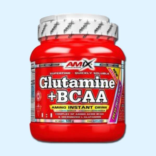 GLUTAMINE BCAA 530 G - AMIX NUTRITION - protéine Sousse SOBITAS protein.tn