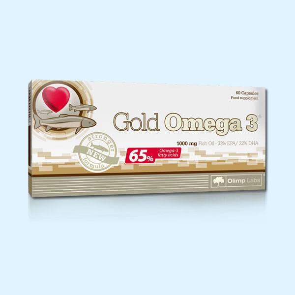 GOLD OMEGA 3 60 CAPS – OLIMP NUTRITION - protéine tunisie sobitas