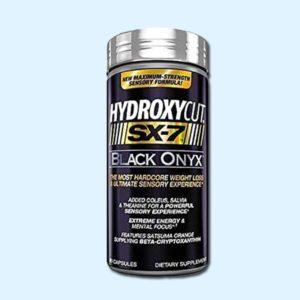 HYDROXYCUT SX-7 BLACK ONYX 80 Caps - MUSCLETECH - protéine Tunisie SOBITAS protein.tn