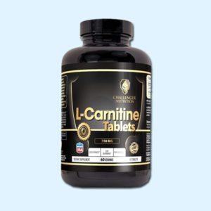 L-CARNITINE TABLETS 120 Cap - CHALENGER NUTRITION - protéine Tunisie SOBITAS protein.tn