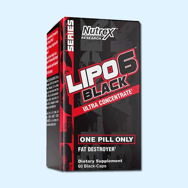 LIPO 6 BLACK 60 Caps – NUTREX RESEARCH - protéine Tunisie SOBITAS protein.tn