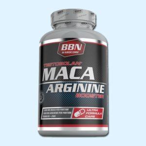 MACA ARGININE 100 Caps – BBN HARDCORE - protéine Sousse SOBITAS protein.tn