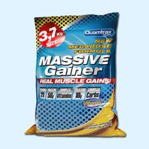 MASSIVE GAINER 3,7 KG –QUAMTRAX - protéine tunisie sobitas