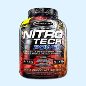 NITRO TECH POWER 1.8 kg - MUSCLETECH - protéine Tunisie SOBITAS protein.tn