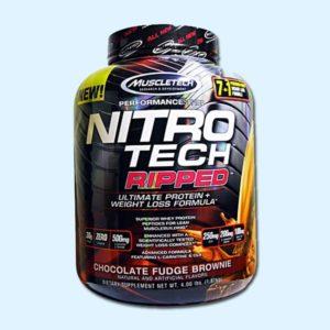 NITRO TECH RIPPED 1,8 kg – MUSCLETECH - protéine Tunisie SOBITAS protein.tn