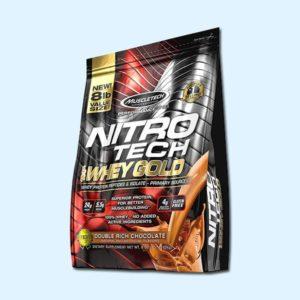 NITRO TECH WHEY GOLD 3.6 Kg - MUSCLETECH - protéine Tunisie SOBITAS protein.tn