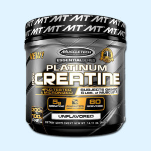 PLATINUM 100% CREATINE 400 G – MUSCLETECH - protéine Tunisie SOBITAS