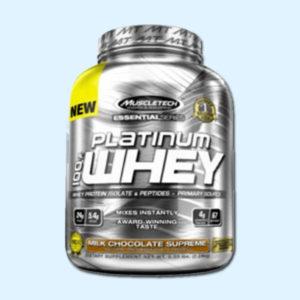 PLATINUM 100% WHEY 2,2 Kg – MUSCLETECH - protéine Tunisie SOBITAS protein.tn