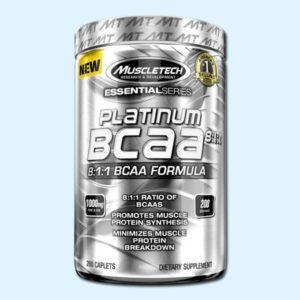 PLATINUM BCAA 8 200 Caps – MUSCLETECH - protéine Sousse SOBITAS protein.tn