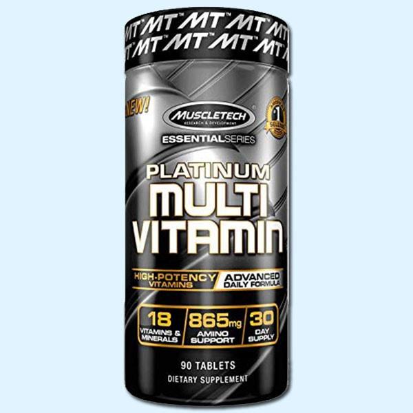PLATINUM MULTIVITAMIN 90 Caps – MUSCLETECH - protéine Sousse SOBITAS protein.tn