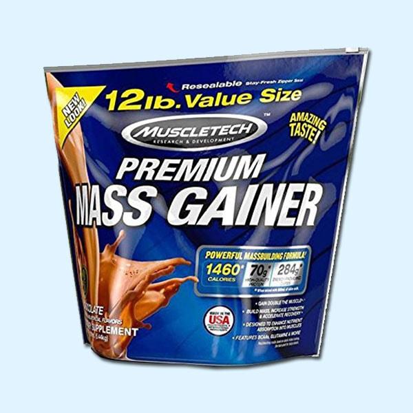 PREMIUM MASS GAINER 5,44 Kg – MUSCLETECH - protéine Tunisie SOBITAS protein.tn