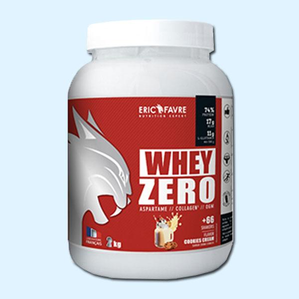 PURE WHEY ZERO 2 kg - ERIC FAVRE - protéine Tunisie SOBITAS