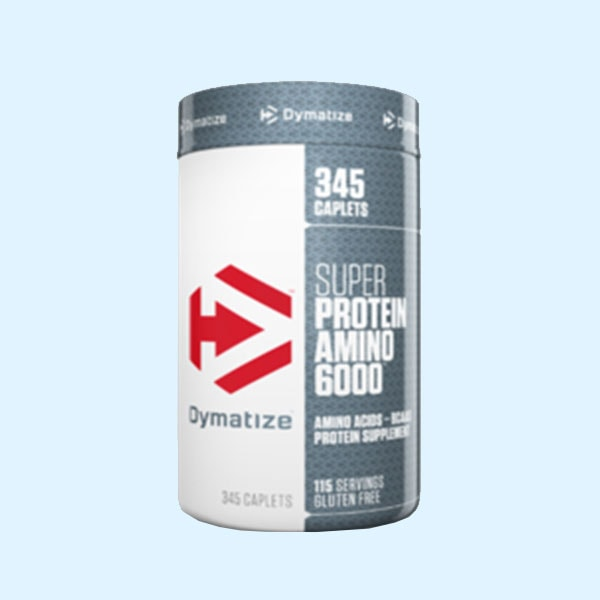 SUPER PROTEIN AMINO 6000 345 Caps – DYMATIZE NUTRITION - protéine Sousse SIBITAS protein.tn