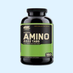SUPERIOR AMINO 2222 160 Caps – OPTIMUM NUTRITION - protéine Sousse SOBITAS protein.tn
