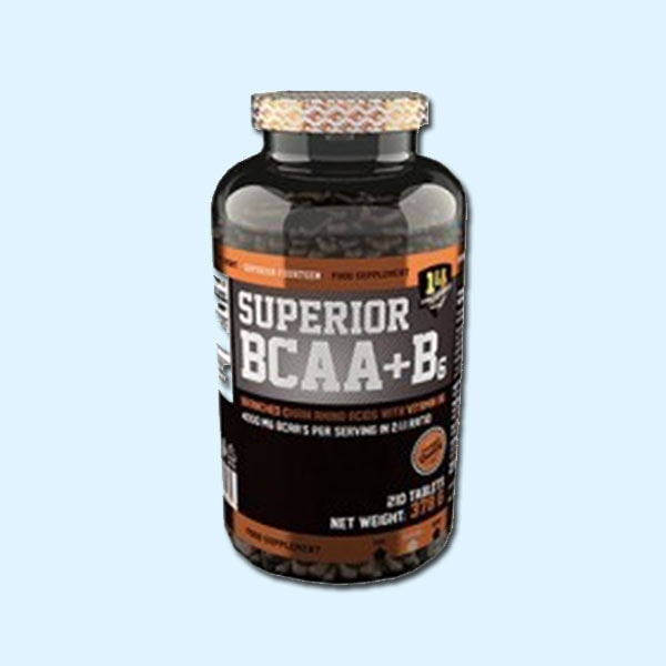 SUPERIOR BCAA+B6 210 caps – SUPERIOR 14 - protéine Tunisie SOBITAS protein.tn