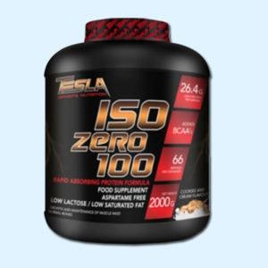 TESLA ISO ZERO 100 2 Kg - TESLA SPORTS NUTRITION - protéine Tunisie SOBITAS protein.tn