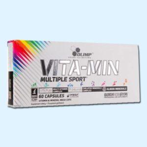 VITA-MIN MULTISPORT 60 Caps – OLIMP NUTRITION - protéine de nutrition SOBITAS Sousse protein.tn