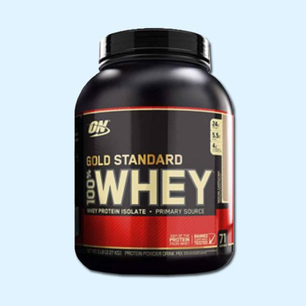WHEY GOLD STANDARD 2,27kg 100% WHEY 2,27 KG – OPTIMUM NUTRITION - protéine tunisie sobitas