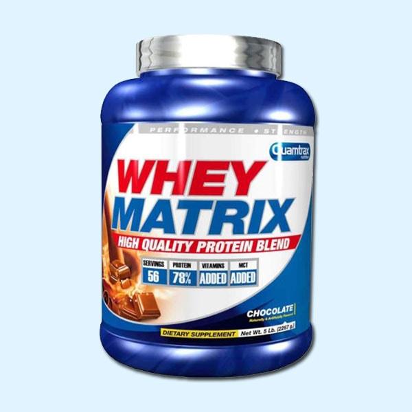 WHEY MATRIX 2,2 Kg - QUAMTRAX NUTRITION - protéine Tunisie SOBITAS protein.tn