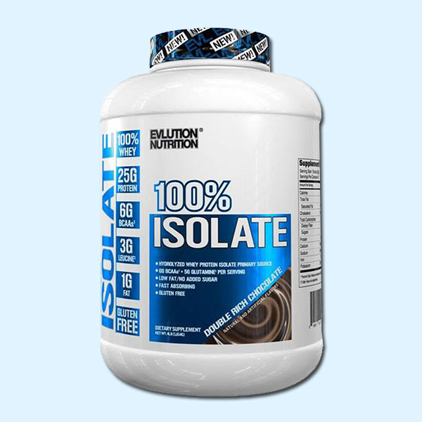 100% ISOLATE PROTEIN 2,268 KG – EVLUTION NUTRITION - protéine tunisie sobitas